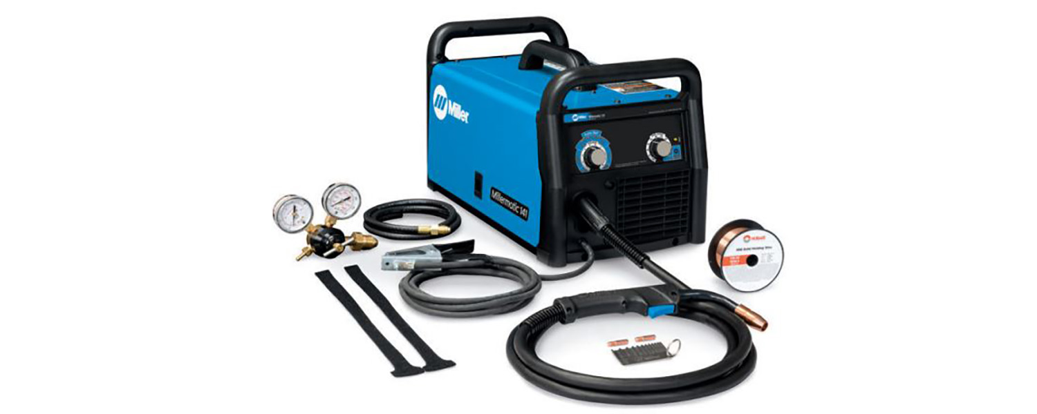 Millermatic 141 Portable Mig Welder 120 Volt 90 Amp Review