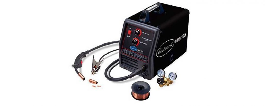 Eastwood MIG Welder 110VAC 135 AMP Portable Machine